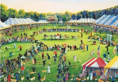 Gibsons The dog show - 500 XL pieces