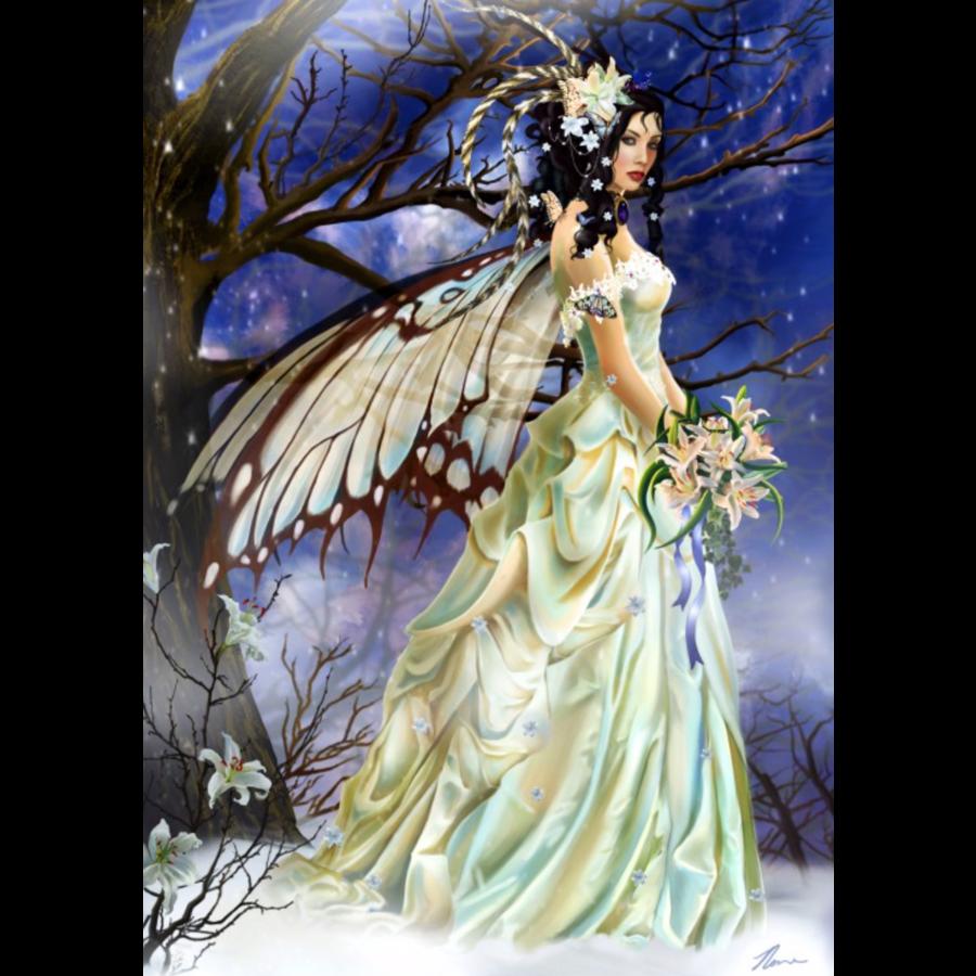 Mist Bride - puzzle de 1000 pièces-1