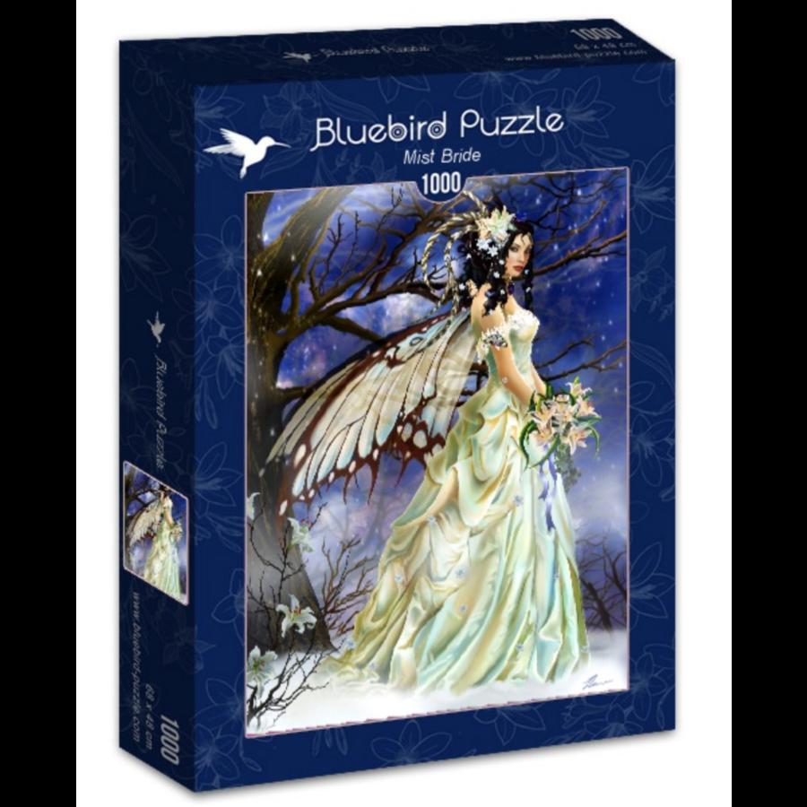 Bruid in de nevel - puzzel van 1000 stukjes-2