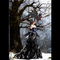 thumb-Queen of Shadows - puzzel van 1000 stukjes-1