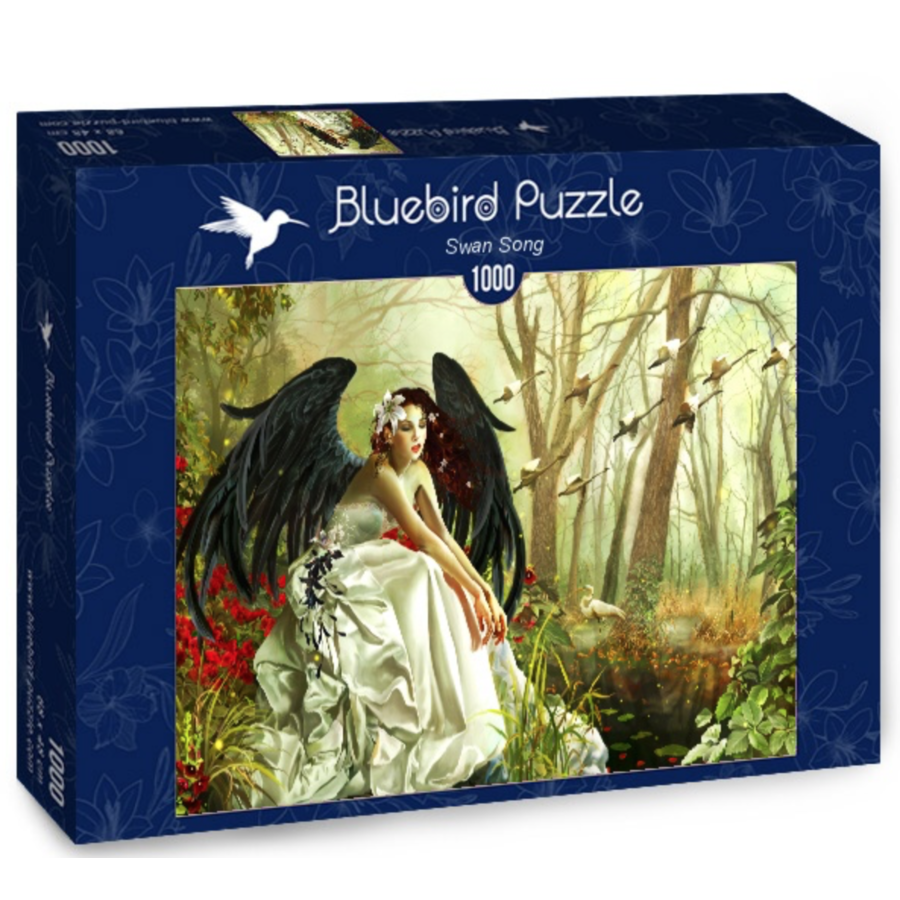 Swan Song - puzzle of 1000 pieces-2