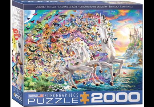 Eurographics Puzzles Eenhoorn fantasie - 2000 stukjes