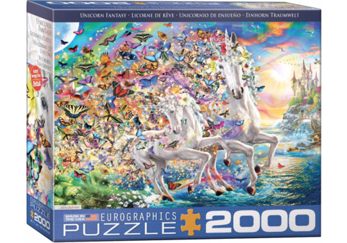 Eurographics Puzzles Unicorn Fantasy - 2000 pieces