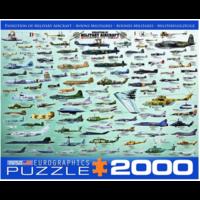 thumb-Militaire Luchtvaart - Collage - puzzel van 2000 stukjes-1