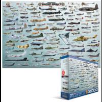 thumb-Militaire Luchtvaart - Collage - puzzel van 2000 stukjes-2