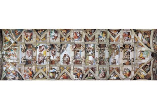 Eurographics Puzzles The Sistine Chapel - Ceiling - 1000 pieces