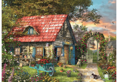 Eurographics Puzzles The Country Shed - 500 pièces XXL