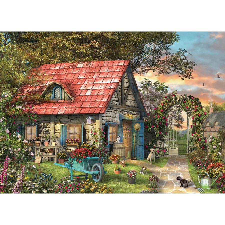 The Country Shed - puzzel van 500 XXL stukjes-1