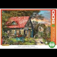 thumb-The Country Shed - puzzel van 500 XXL stukjes-2