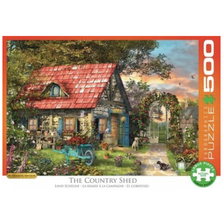 The Country Shed - puzzel van 500 XXL stukjes-2