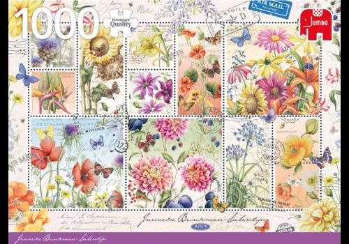 Jumbo Timbres de fleurs - 1000 pièces