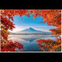 thumb-Herfst bij de Mount Fuji - 1000 stukjes-1
