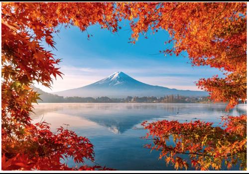 Schmidt Herfst bij de Mount Fuji - 1000 stukjes