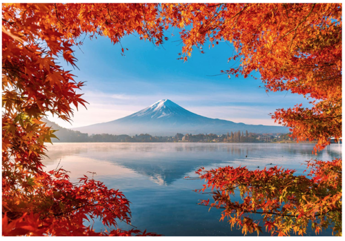 Schmidt L'automne au Mont Fuji - 1000 pièces