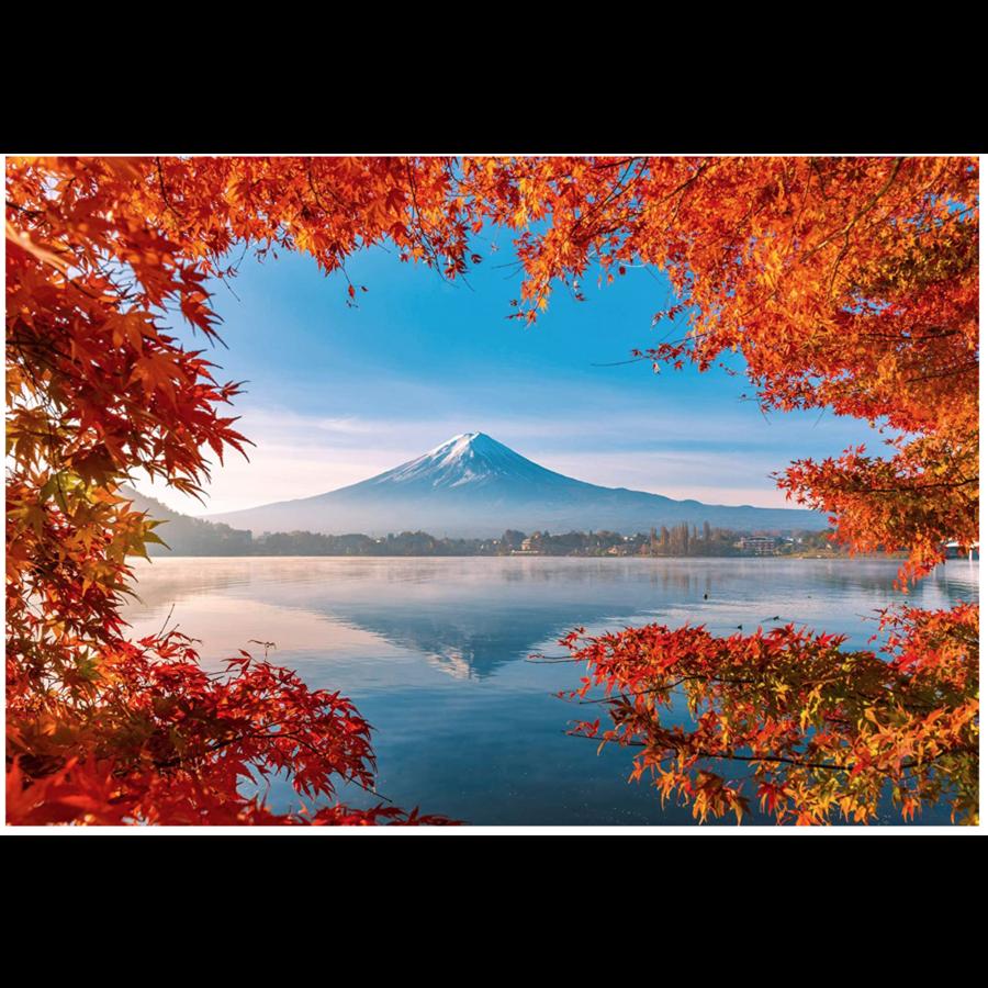Herfst bij de Mount Fuji - 1000 stukjes-1