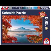 thumb-Herfst bij de Mount Fuji - 1000 stukjes-2