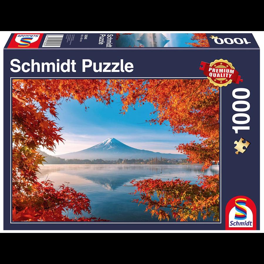 Herfst bij de Mount Fuji - 1000 stukjes-2