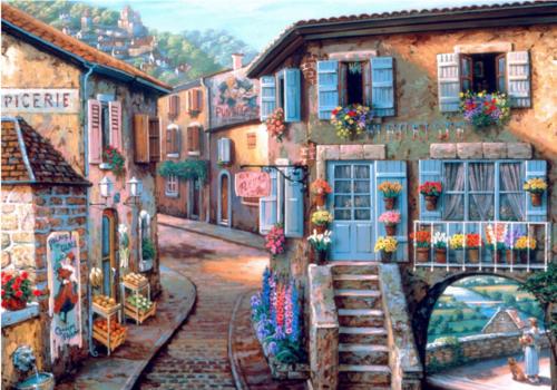 Bluebird Puzzle Le Fleuriste - 1000 pièces