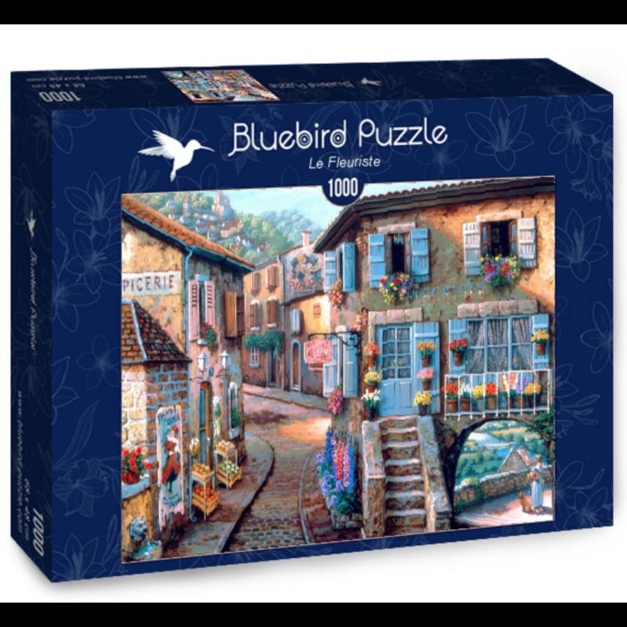 The florist - puzzle of 1000 pieces-2