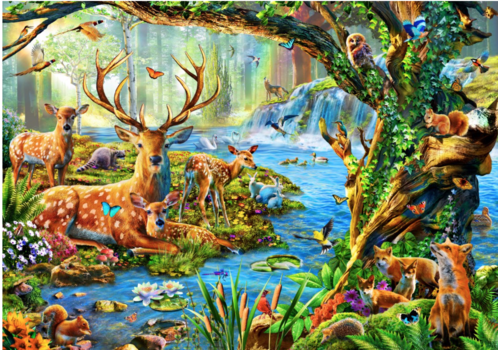 Bluebird Puzzle Forest Life - 1500 pieces