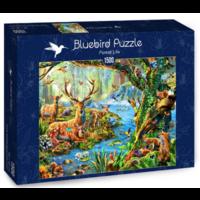 thumb-La vie en forêt - puzzle de 1500 pièces-2