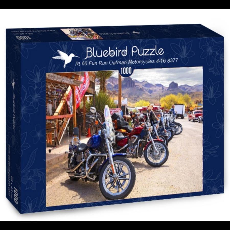 Route 66 - Motorcycles - puzzel van 1000 stukjes-2
