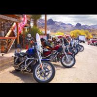 thumb-Route 66 - Motorcycles - puzzel van 1000 stukjes-1