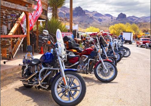 Bluebird Puzzle Route 66 - Motorcycles - 1000 stukjes