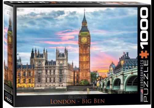 Eurographics Puzzles London - Big Ben - 1000 stukjes