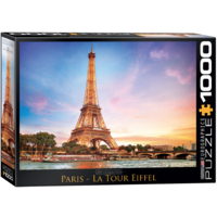Parijs - Eiffeltoren - puzzel van 1000 stukjes