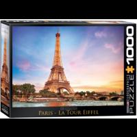Paris - Eiffel Tower - 1000 pieces - jigsaw puzzle