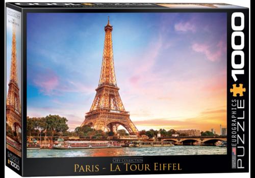 Eurographics Puzzles Parijs - Eiffeltoren - 1000 stukjes