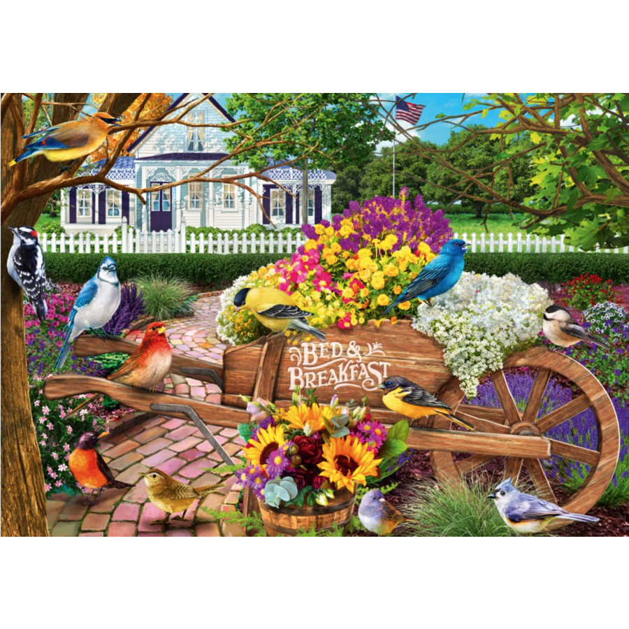 Bed & Breakfast - puzzle de 1000 pièces-1