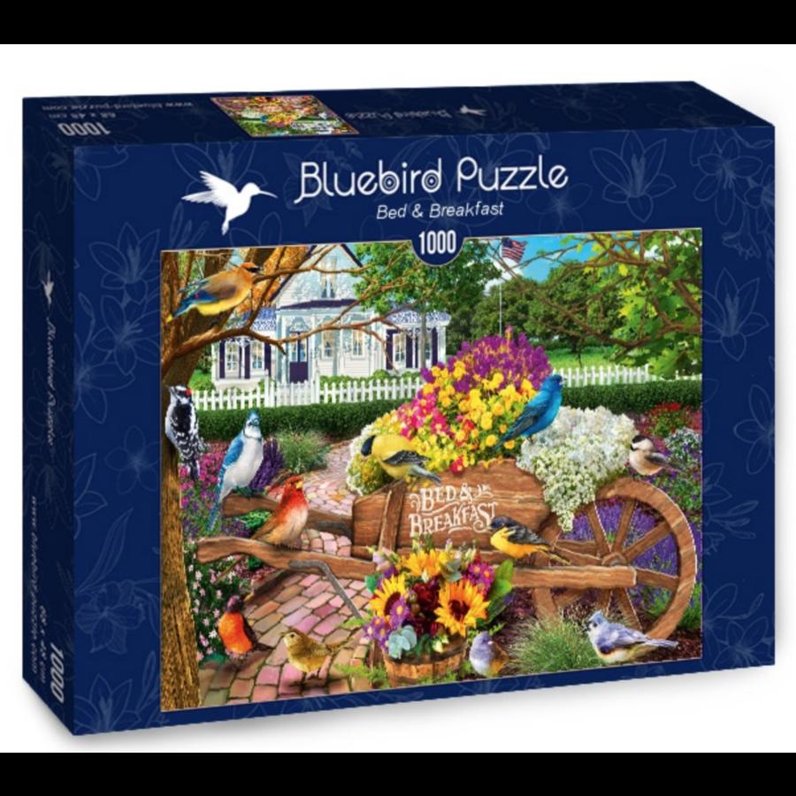 Bed & Breakfast - puzzel van 1000 stukjes-2
