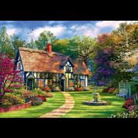thumb-De verborgen cottage - puzzel van 1000 stukjes-1