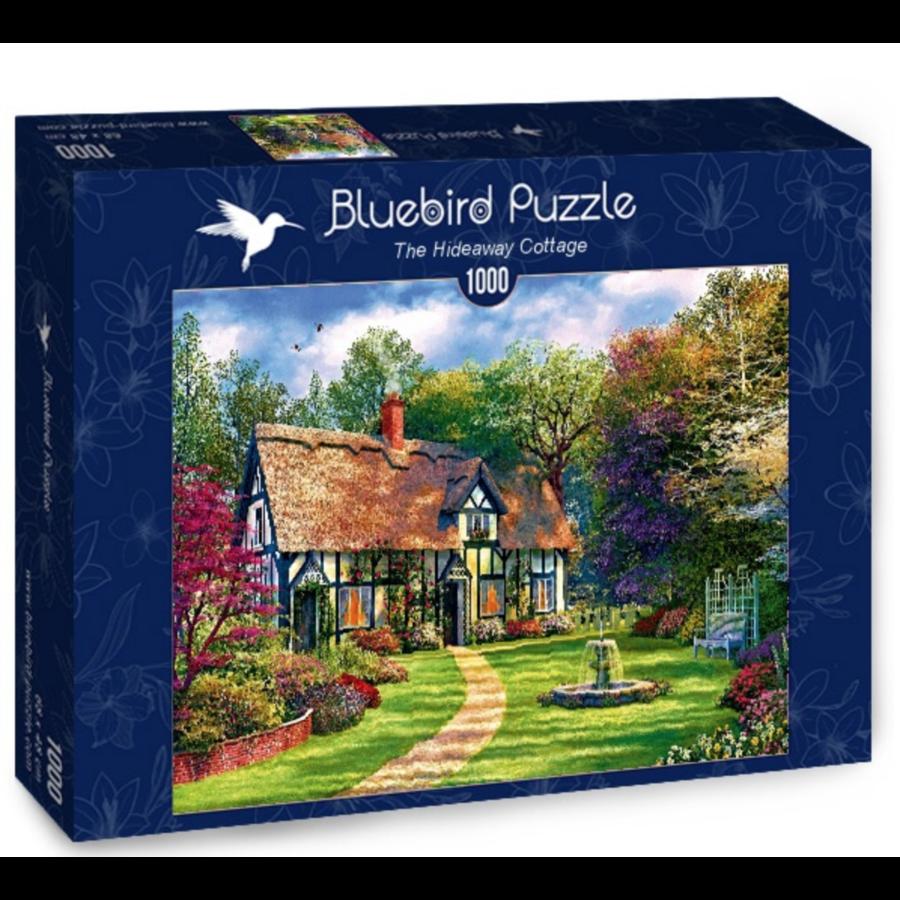 Chalet de refuge - puzzle de 1000 pièces-2