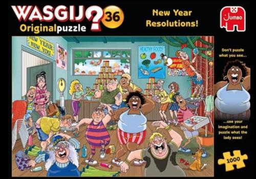 Jumbo Wasgij Original 36 - New Year Resolutions - 1000 stukjes