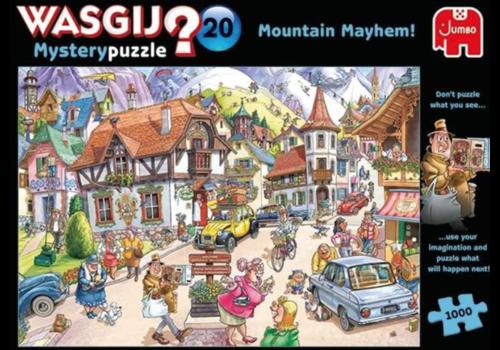 Jumbo Wasgij Mystery 20 - Mountain Mayhem - 1000 pièces