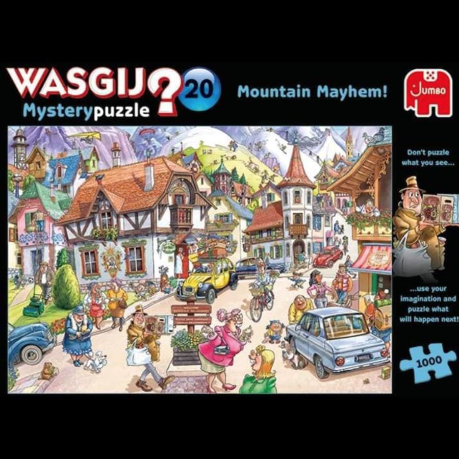 Wasgij Mystery 20 - Mountain Mayhem - 1000 stukjes-1