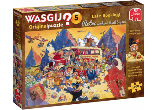 Jumbo Wasgij Retro Original 5 - Late Booking - 1000 pieces