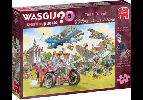 Jumbo Wasgij Retro Destiny 5 - Time Travel - 1000 pieces