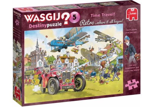 Jumbo Wasgij Retro Destiny 5 - Time Travel - 1000 stukjes
