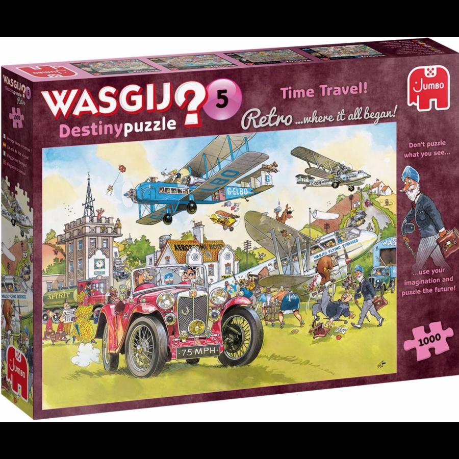Wasgij Retro Destiny 5 - Time Travel - 1000 stukjes-1