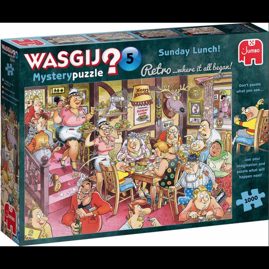 Wasgij Retro Mystery 5 - Sunday Lunch! - 1000 stukjes-1