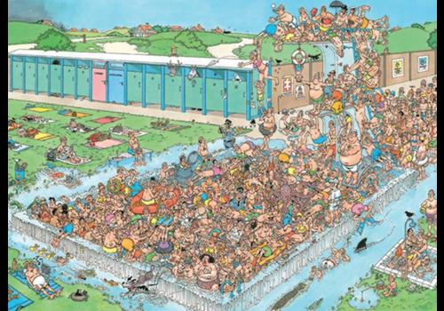 Jumbo PRE-ORDER: Embouteillages à la piscine - 1000 pièces