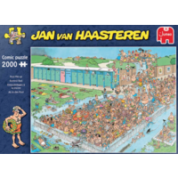 thumb-Pool Pile-up  - JvH - 2000 pieces-1
