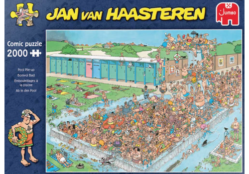 Jumbo Pool Pile-up - JvH - 2000 pieces