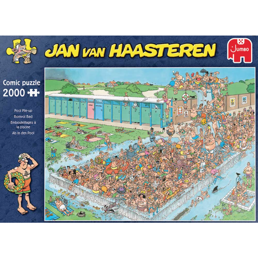 Pool Pile-up  - JvH - 2000 pieces-1