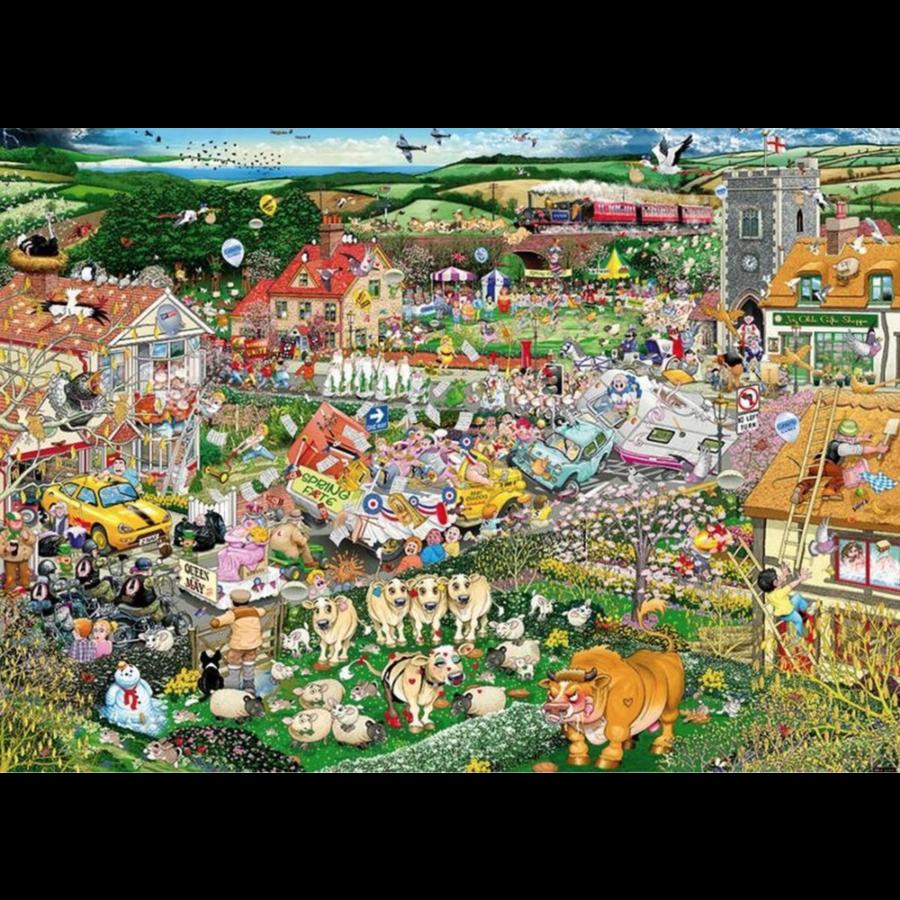 I Love Spring - puzzel van 1000 stukjes-2