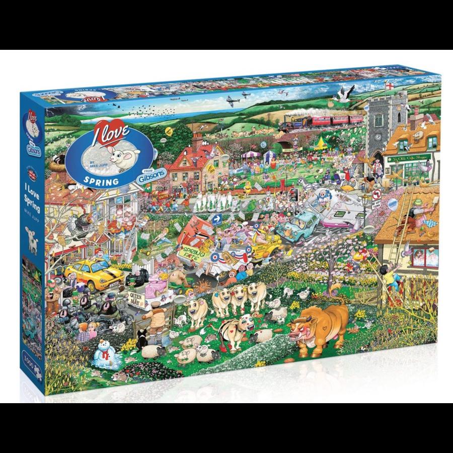 I Love Spring - puzzel van 1000 stukjes-1